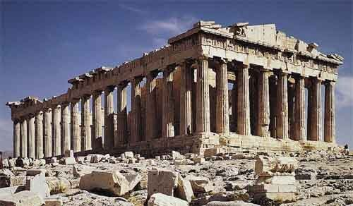 Parthenon. Cosmos of the Ancients.